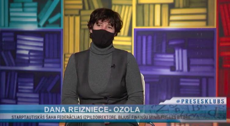 Dana Reizniece - Ozola Rīga TV 24 raidījumā