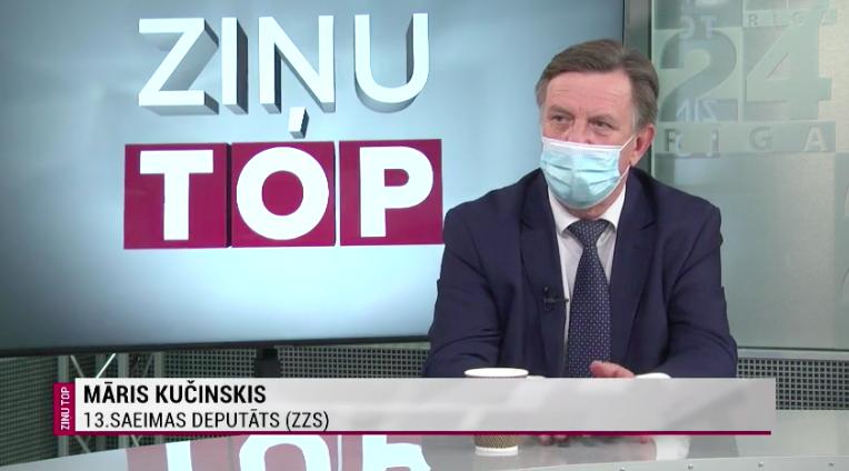 Rīga TV 24 raidījumā
